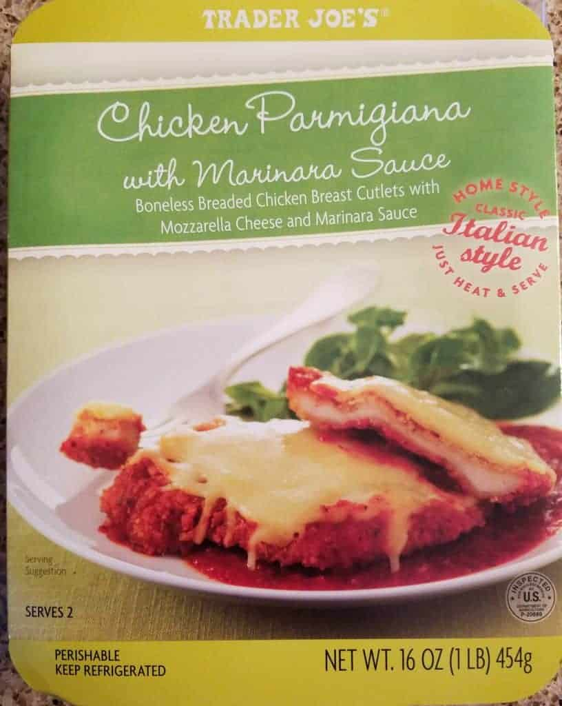 Trader Joe's Chicken Parmigiana