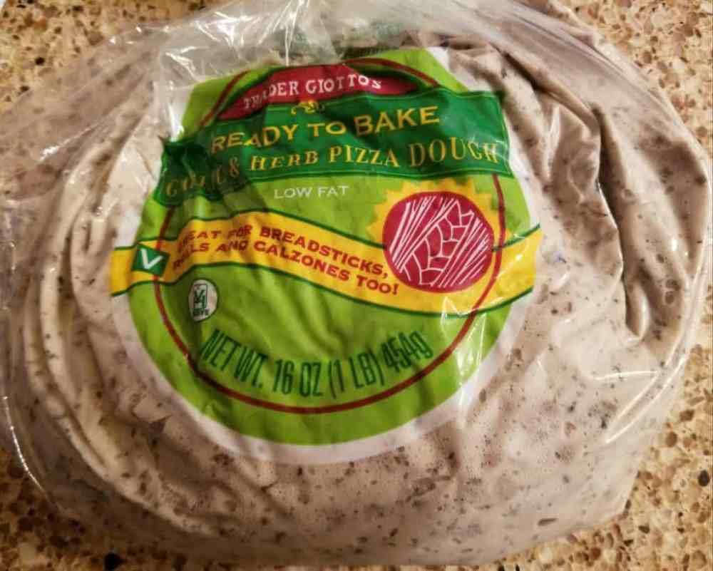 Trader Joe's Garlic and Herb Pizza Dough