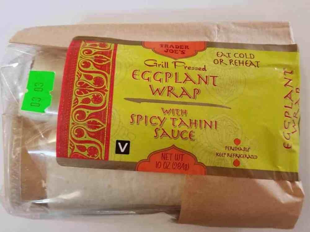 Trader Joe's Grilled Eggplant Wrap