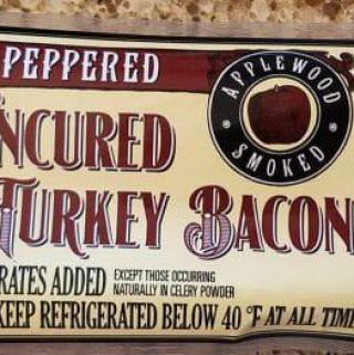 Trader Joe's Peppered Turkey Bacon