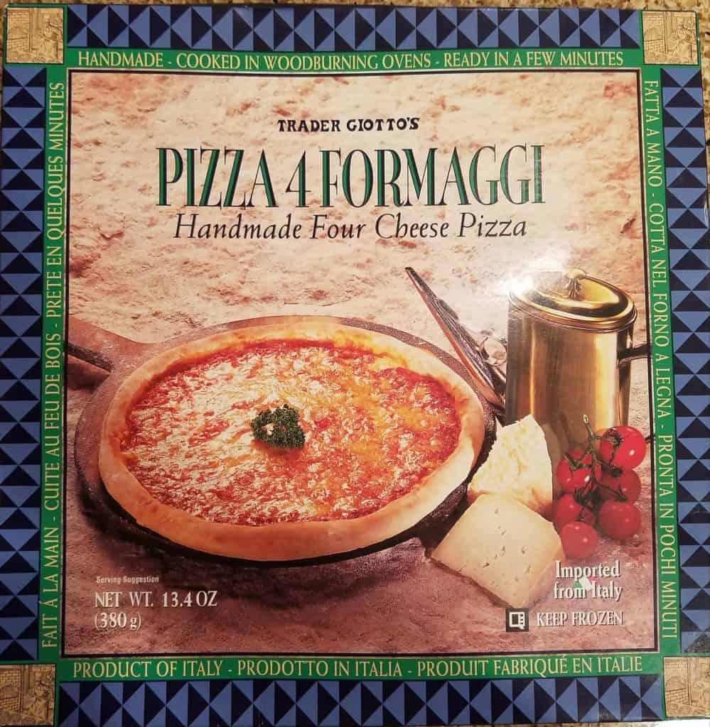 Trader Joe's Pizza 4Formaggi