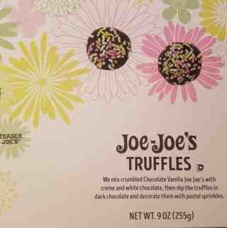 Trader Joe's Joe Joe's Truffles