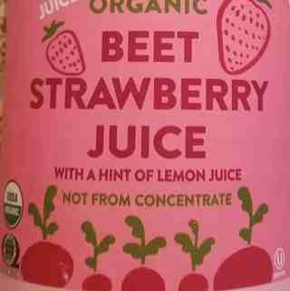 Trader Joe's Organic Beet Strawberry Juice