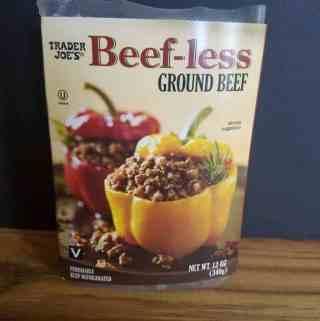 Trader Joe's Beefless Ground Beef