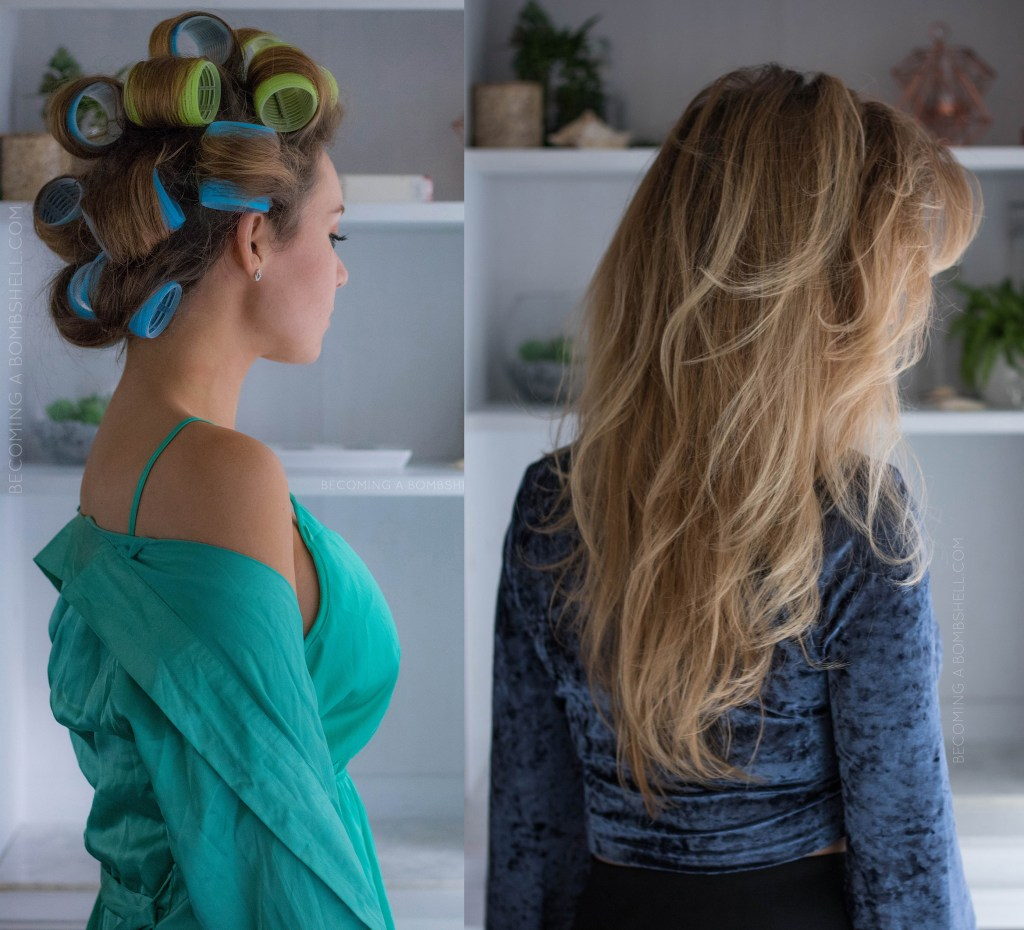 How To Use Velcro Rollers For Voluminous Hair Becoming A