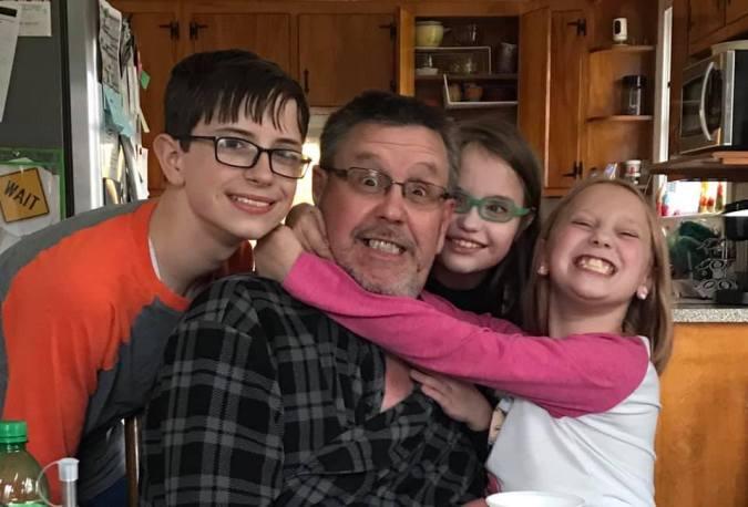 Parker, John, Allie, Kaylie