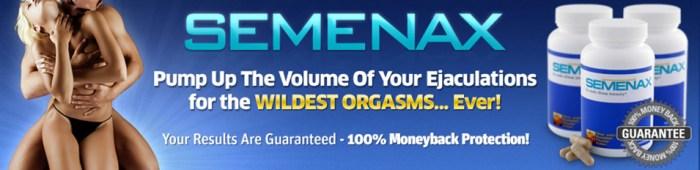 Sperm volume inhancer