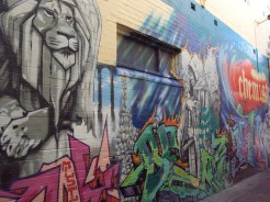 The first graff wall I ever saw in Sydney (Manly Beach). Of course, Mistery was on it!