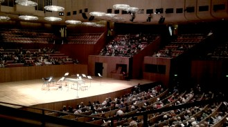 afternoon concerto at the Opera House