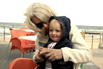 Cuddles with Nan