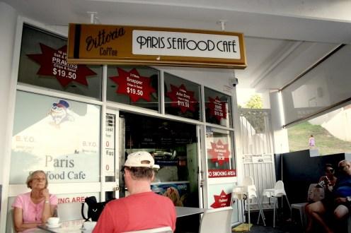 fish & chip shop, La Perouse