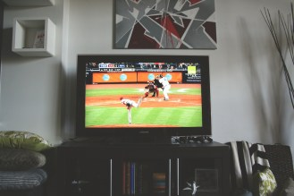 Watching more baseball on TV (at home)