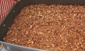 Crusted sweet potato bake