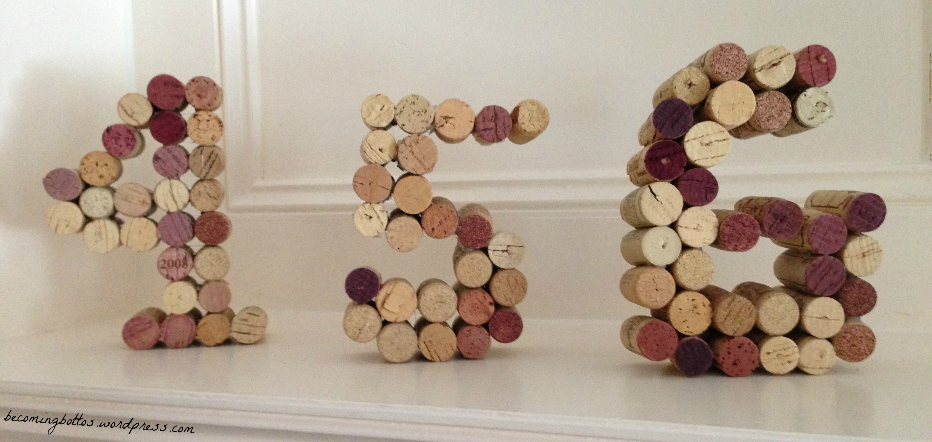 Wine Corks, Table Numbers, And Whiskey Ginger-ales