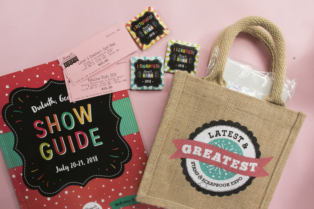 stamp and scrapbook expo 2018