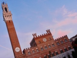 Piazza del Campo by dusk