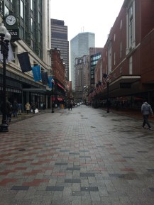 Downtown Boston!