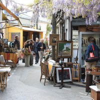 A Morning at a Paris Antique Market