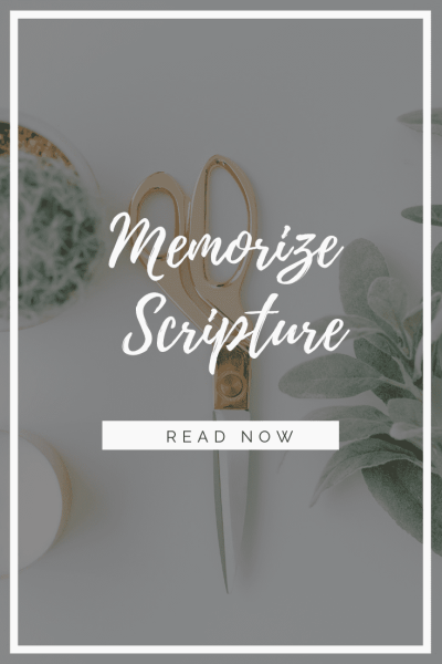 4 Tips to Help You Memorize Scripture