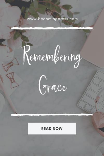 Remembering Grace Devotional