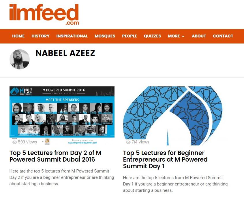 ilmfeed contributor guest author nabeel azeez