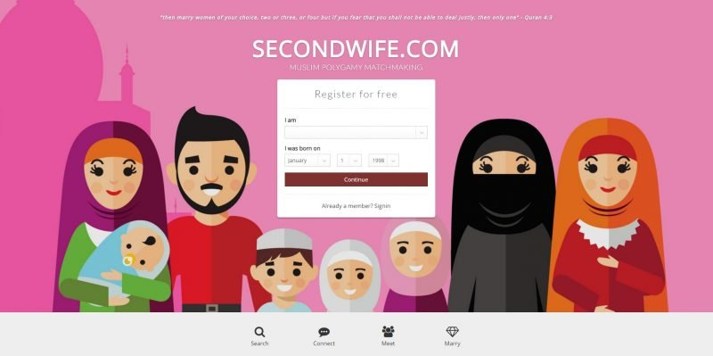 secondwife.com hero shot