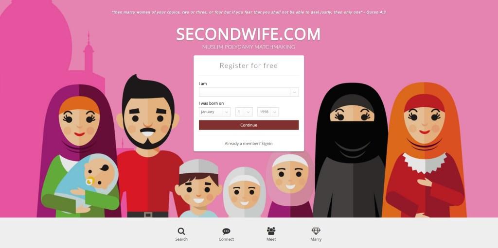 secondwife.com hero shot