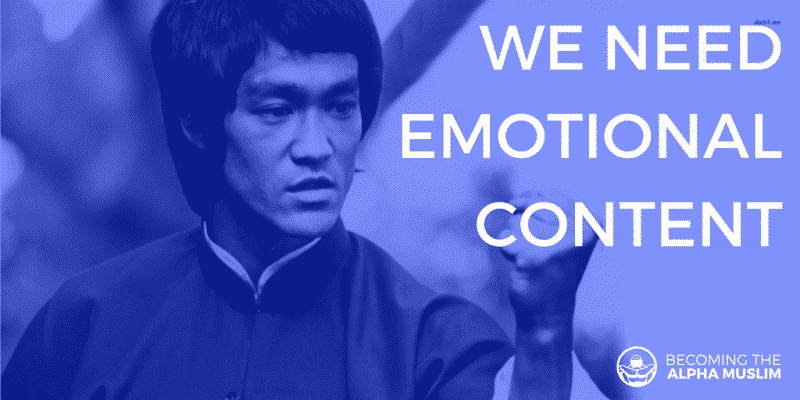 bruce lee quote we need emotional content