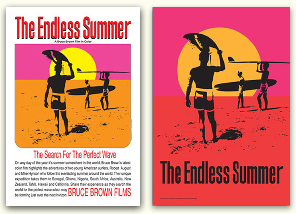 endless summer bruce browne poster