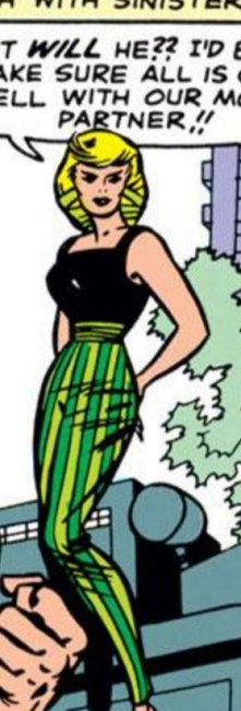 The Enchantress, in really great pants. (Avengers #7)