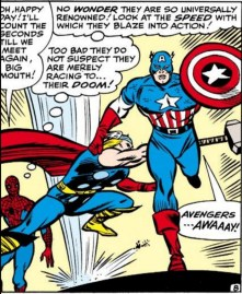 """Several slogans were suggested before the iconic """"Avengers Assemble"""" was chosen. Other options included """"Avengers Approaching"""" and """"Avengers Ascend."""" (Avengers #11)"""