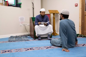 Bilal Ahmed and Md. Nurul Hasan, Becontree Heath Islamic Society. Photo by Diana Agunbiade-Kolawole