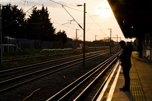 Dagenham Heathway at Sunset. Photo by AF Rodrigues