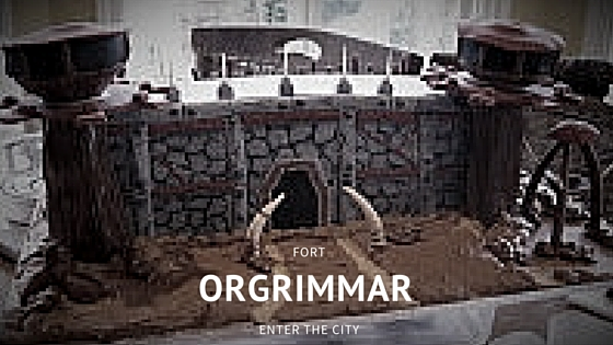Orgrimmar cake WoW (World of Warcraft)