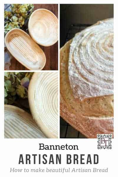 Image of bannetons and bread