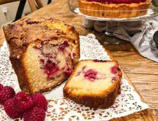 Thermomix raspberry loaf | becs-table.com.au