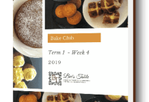 cover image of ebook week 4 term 1 Bake club