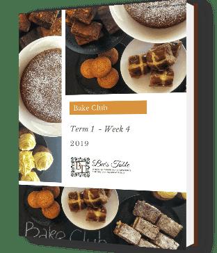cover image of ebook week 4 term 1 Bake club