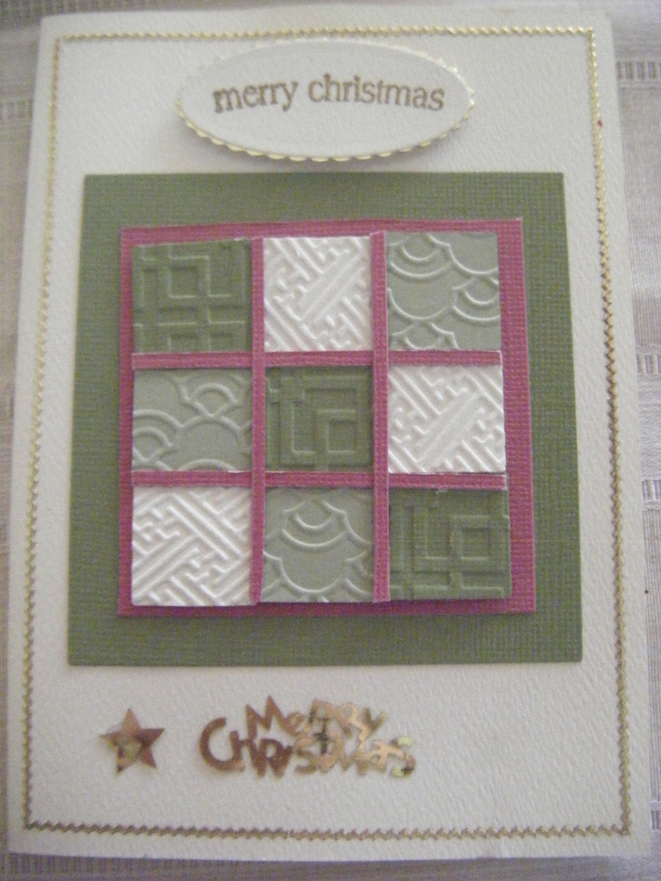 Christmas Cards My World Of Card Making
