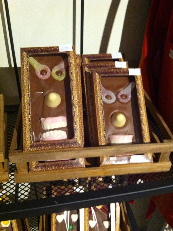 Grrr - angry choccies!