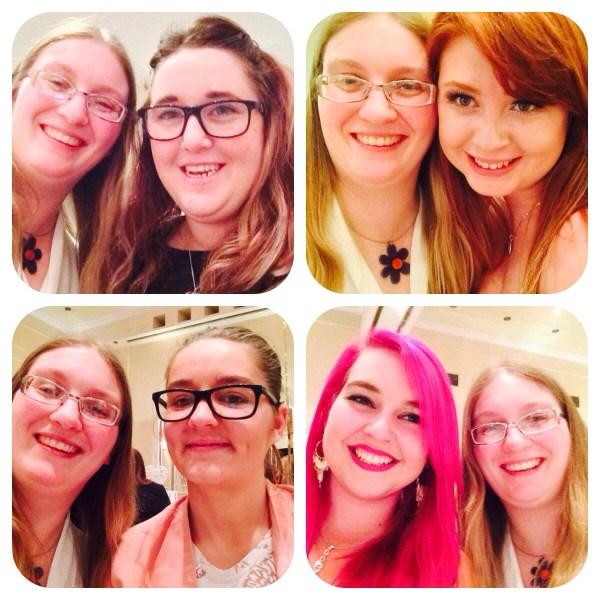 #PartyAtTheAngel selfies