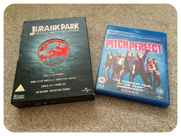 Movies - Jurassic Park & Pitch Perfect