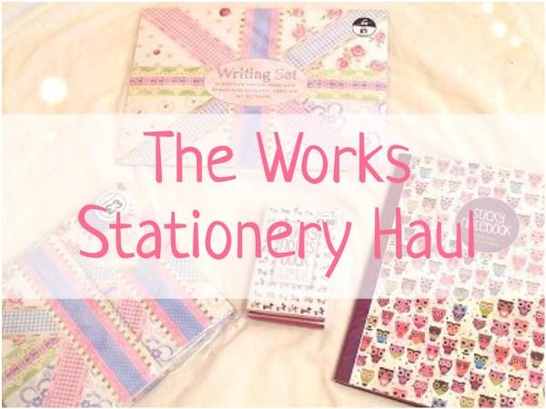 Stationery Haul