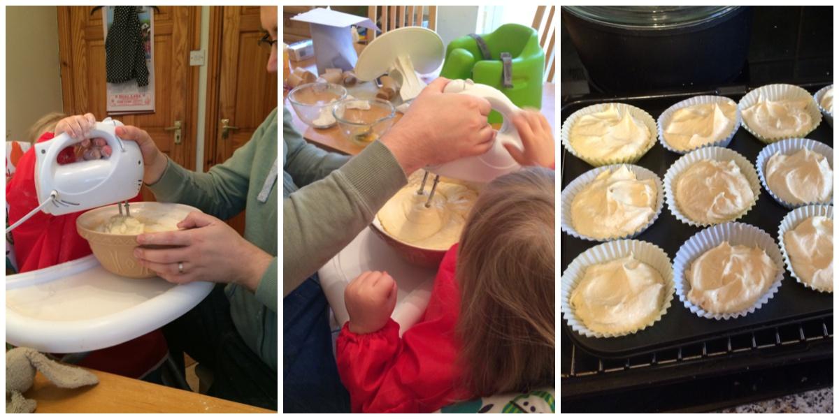Cake baking a la Bake Off