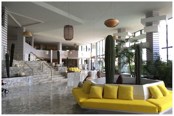 The ground floor of the Lanzarote Princess