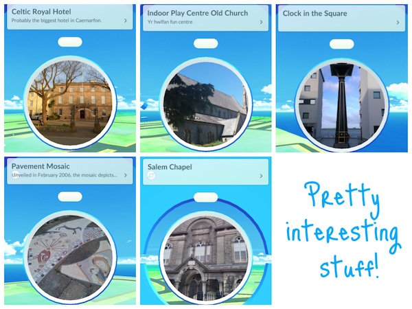 Some Pokestops