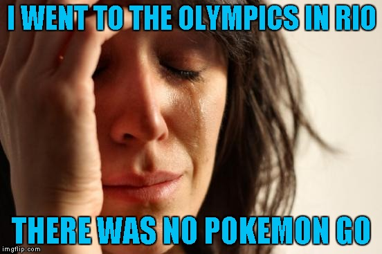 No Pokemon Go in Rio!