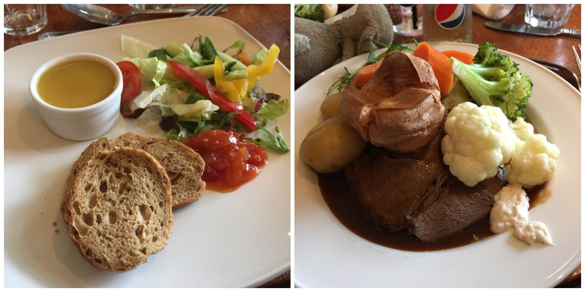 Food at the Royal Oak