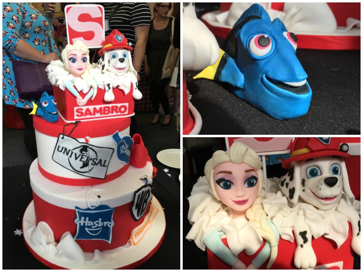 Cake sponsored by Sambro