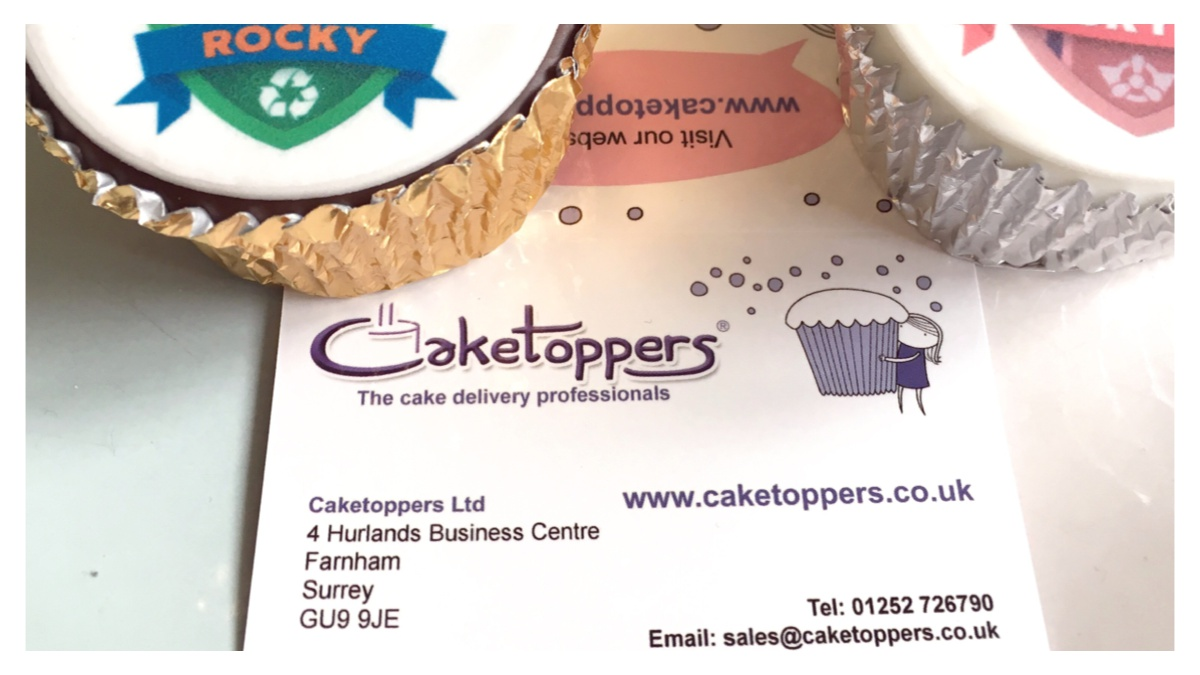 Cake toppers Business Card